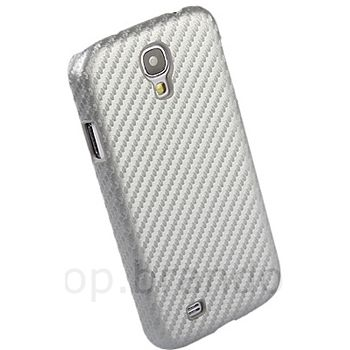 Brando zadní kryt pro Samsung Galaxy S4, karbon, šedý