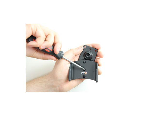 obsah balení Brodit držák do auta pro BlackBerry Q10 bez nabíjení + adaptér pro snadné odebrání držáku z proclipu