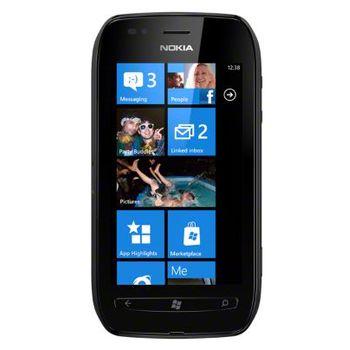 Nokia Lumia 710 Black/Black + záložní zdroj Nokia DC-16 ZDARMA