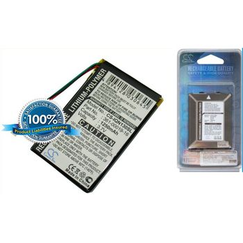 Baterie náhradní pro Garmin Nüvi 1390T, 1370T, 1350T, 1340, 1340T, 1300, Li-pol 3,7V 1250mAh