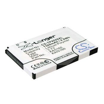 Baterie (ekv. BA-S210) pro HTC P4550 Kaiser TyTN II, Li-pol 3,7V 1300mAh