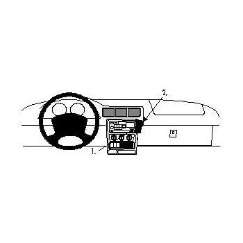 Brodit ProClip montážní konzole pro Opel Sintra 97-99, na střed vpravo