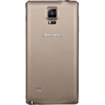 Samsung výměnný zadní kryt EF-ON910SE pro Galaxy Note 4 (N910), zlatý
