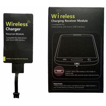 Univerzální micro USB receiver pro bezdrátové nabíjení, varianta 1