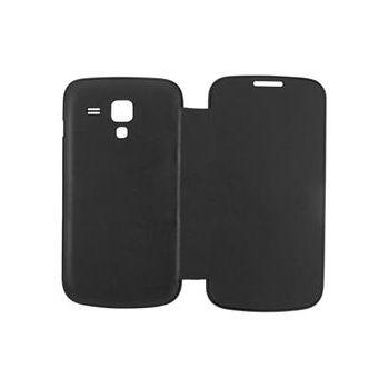 ANYMODE pouzdro typu kniha pro Samsung Galaxy Trend, PU kůže, černé