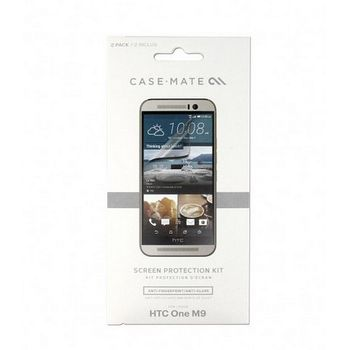 Case Mate ochranná fólie na displej pro HTC One (M9), 2ks, čirá