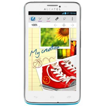 Alcatel One Touch 8000D Scribe Easy modrá + Powerbanka 5600mAh