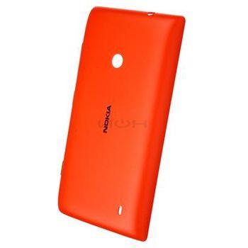 Nokia CC-3068 Gloss pevný kryt Lumia 520 oranžový