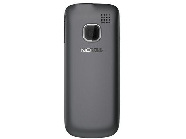 obsah balení Nokia C1-01 Dark Gray + pouzdro Krusell Gaia černé