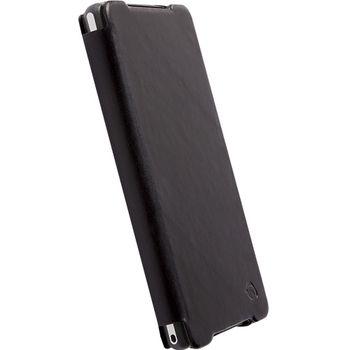 Krusell pouzdro FlipCover Kiruna - SONY Xperia Z2, černá