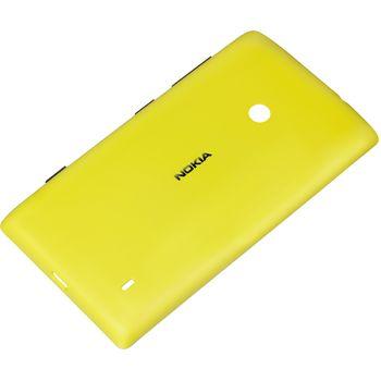 Nokia ochranný kryt CC-3068 pro Lumia 520, žlutá
