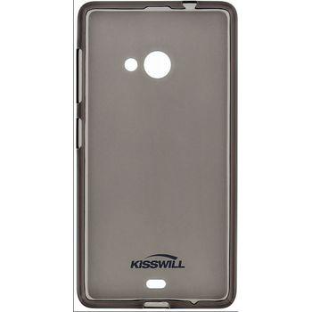 Kisswill TPU pouzdro pro Huawei Ascend G8, černé
