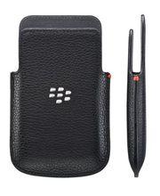 BlackBerry kožené pouzdro pro Q5, černá