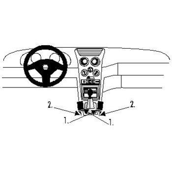 Brodit ProClip montážní konzole pro Alfa Romeo 145 94-97/146 98-00, na středový tunel