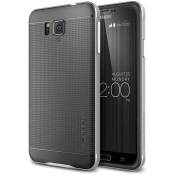 Spigen pouzdro Neo Hybrid pro Samsung Galaxy Alpha, stříbrná