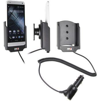 Brodit držák do auta na HTC One mini bez pouzdra, s nabíjením z cig. zapalovače, rozbaleno