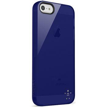 Belkin pouzdro Grip Vue pro Apple iPhone 5 - průhledné modré (F8W093vfC02)