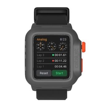 Catalyst vodotěsné pouzdro pro Apple Watch 42mm, černo-oranžové