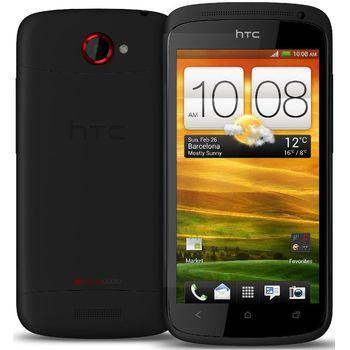 HTC One S černá + originální kožené pouzdro HTC