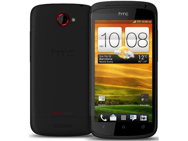 obsah balení HTC One S černá + držák do auta Kidigi