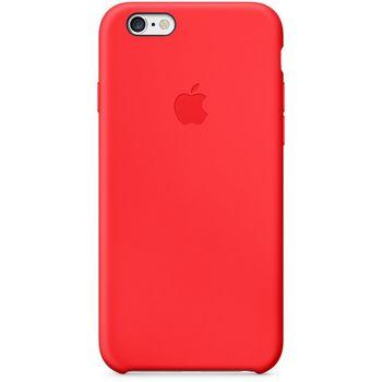 Apple silikonový kryt pro iPhone 6/6S, červená