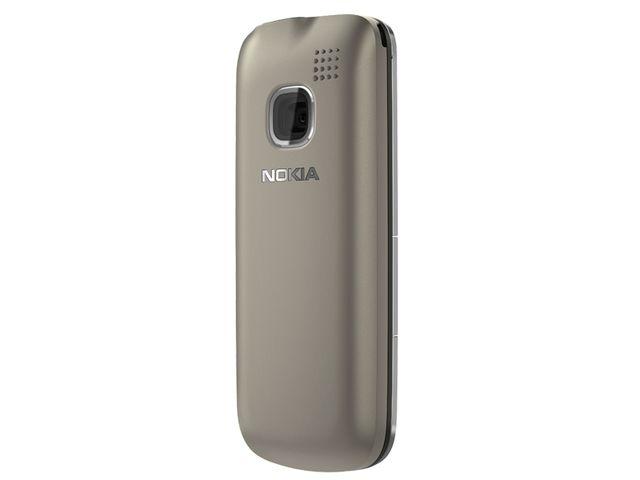 obsah balení Nokia C1-01 Warm Grey + pouzdro Krusell Gaia černé