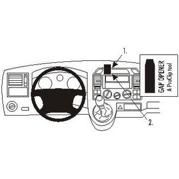 Brodit ProClip montážní konzole pro VW Shuttle, T5 Transporter/Pickup, 03-06, Europe