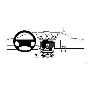 Brodit ProClip montážní konzole pro Lancia Y 96-03, na střed