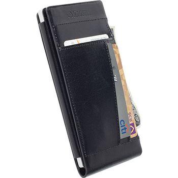 Krusell pouzdro WalletCase Kalmar - Nokia Lumia 830, černá
