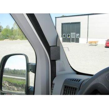 Brodit ProClip montážní konzole pro Peugeot Boxer/Fiat Ducato/Citroen Jumper 07-16, vlevo na sloupek