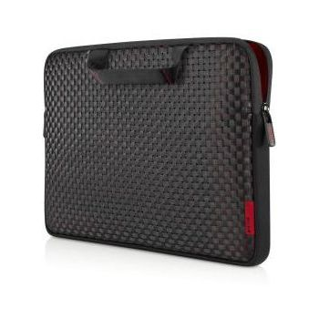 "Belkin Netbook Merge Sleeve 10.2"" s rukojetí, černá/červená (F8N655cwC00)"