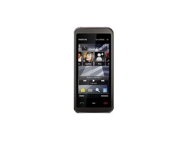 obsah balení NOKIA 5530 XpressMusic Black Grey 2GB + Handsfree BH-105