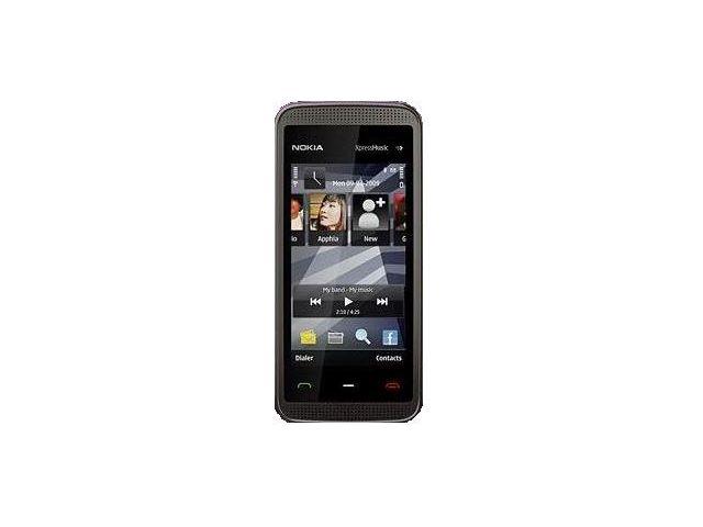 obsah balení NOKIA 5530 XpressMusic Black Grey 2GB + fólie Brando