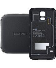Samsung sada pro bezdrátové nabíjení (kryt + podložka + kabel) EP-WG900IB pro S5 (G900), černá
