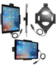 Brodit držák do auta na Apple iPad Pro bez pouzdra, s nab. z cig. zapalovače/USB, s pružinou