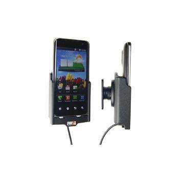 Brodit držák do auta na LG Optimus 2X bez pouzdra, s nabíjením z cig. zapalovače