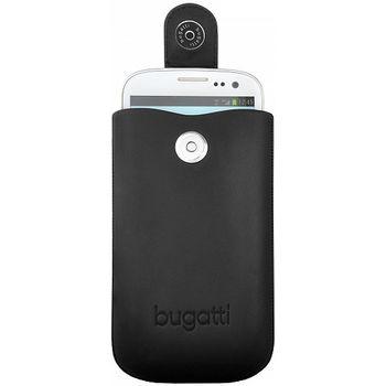 Bugatti Slim case leather M (122 x 73mm) - černé