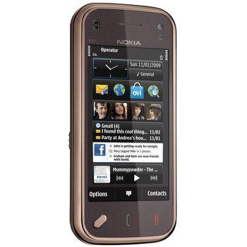 NOKIA N97 mini Garnet + aktivní držák Brodit