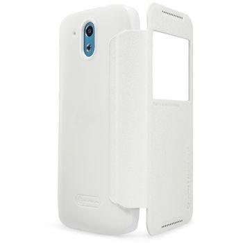 Nillkin Sparkle S-View Pouzdro White pro HTC Desire 526
