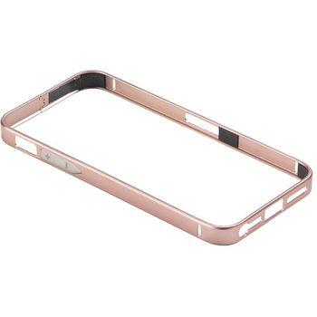 PanzerGlass ochranný hliníkový rámeček pro Apple iPhone 5/5s, růžově červená